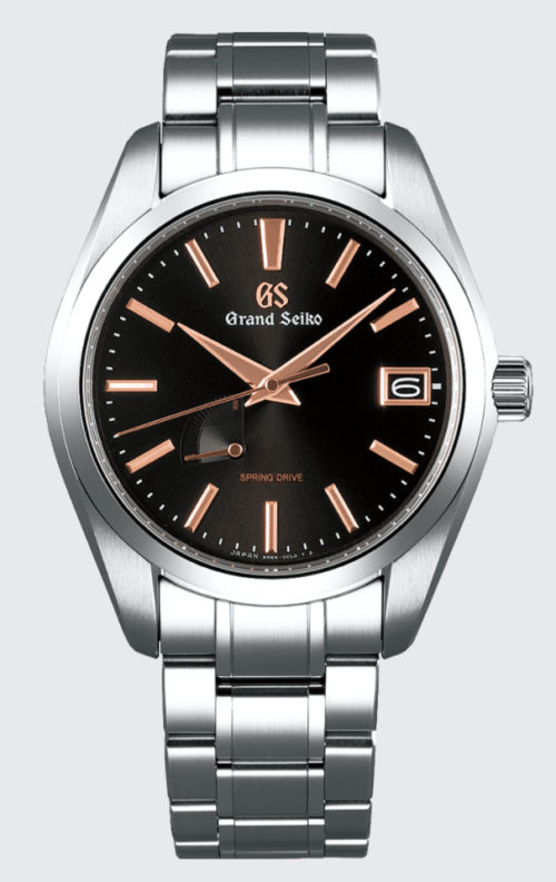 Luxurious Grand Seiko watch