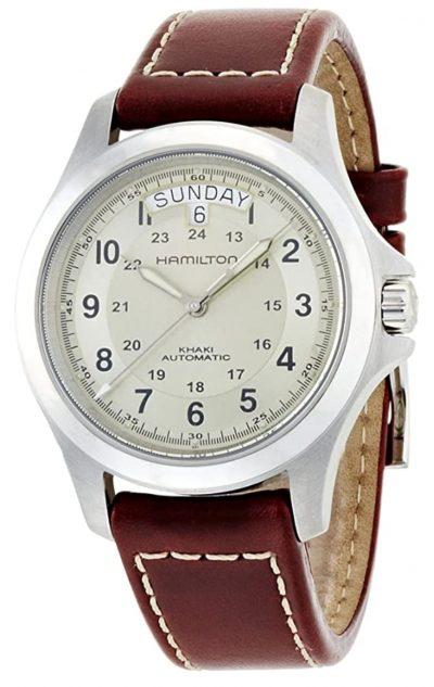 vintage military-inspired Hamilton timepiece