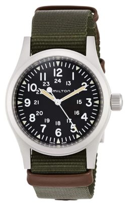 A mechanical vintage-style army watch from Hamilton
