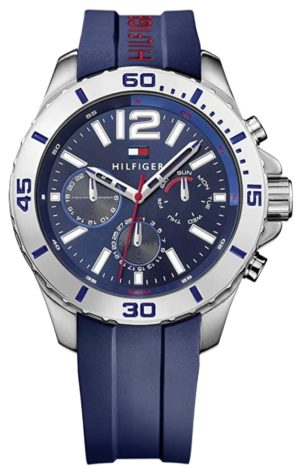 Tommy Hilfiger sports watch with stopwatch subdials