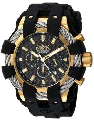 Masculine oversized Invicta timepiece