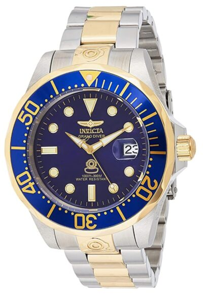Gold-toned dive watch from Invicta
