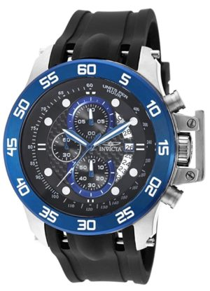 Dive watch with chronograph sub-dials