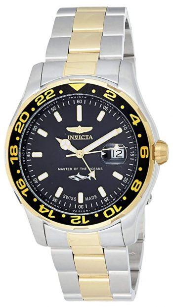 Swiss-made Invicta dive watch