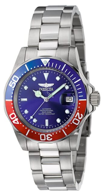 Pepsi bezelled Invicta watches review