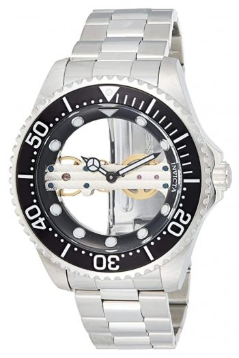 One of the best skeleton watches with transparent face