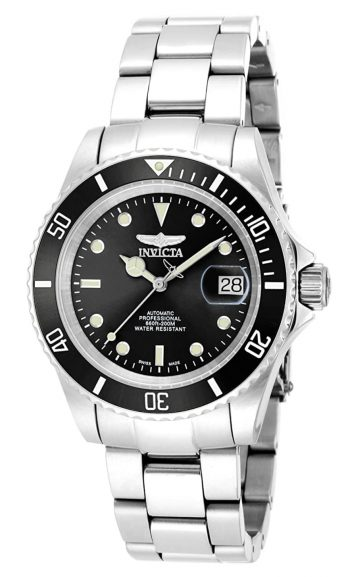 Invicta Pro Diver review on Swiss made watches