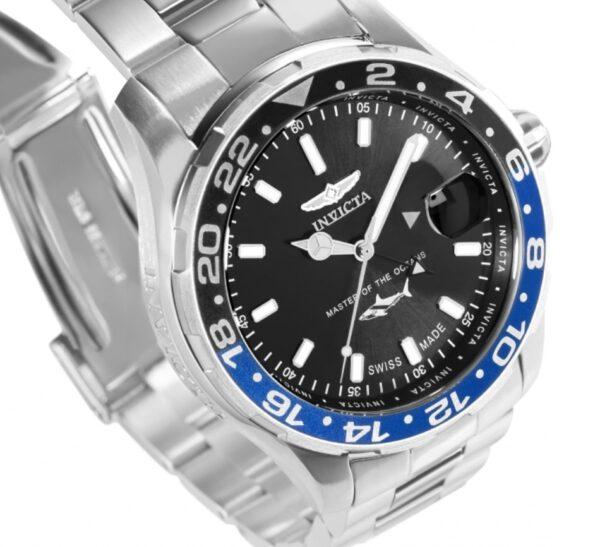 Invicta's Swiss Made timepiece