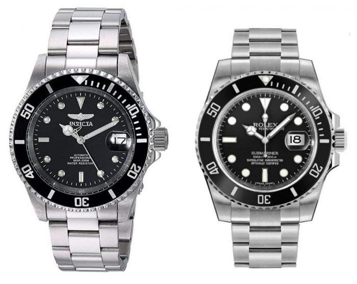 Invicta Pro Diver vs Rolex Submariner