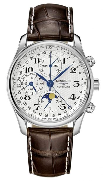 Longines luxury piece among the best men's moon phase watches