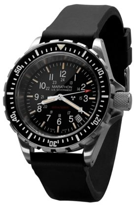 One of the best luminous watches with tritium tubes