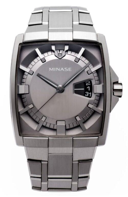 Minase rectangular watch
