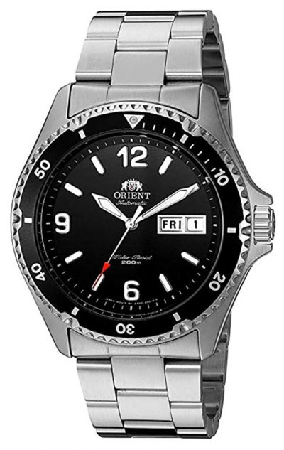 Orient diver's watch with top automatic movement