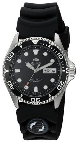 An all-black Orient dive piece