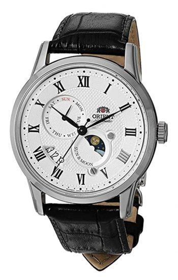 Retro-like Orient dress watch with Roman numerics