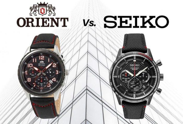 Orient vs Seiko