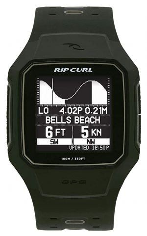 A GPS surfing watch with various features