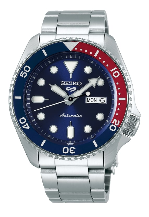 Top class Seiko 5 automatic watch