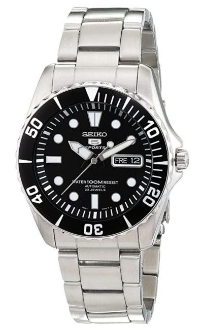 full metal Seiko automatic watch under 500