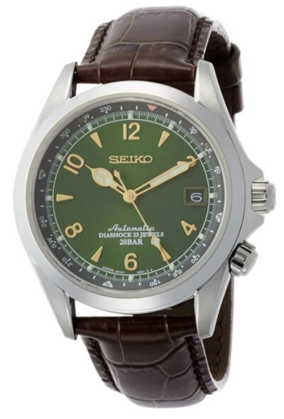 one of the best Seiko watches with green dial