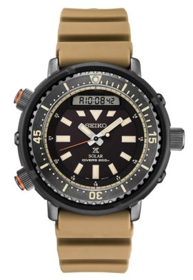 A rugged army watch with bezel and thick hands