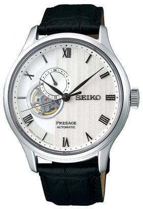 Open-heart Seiko premium class timepiece