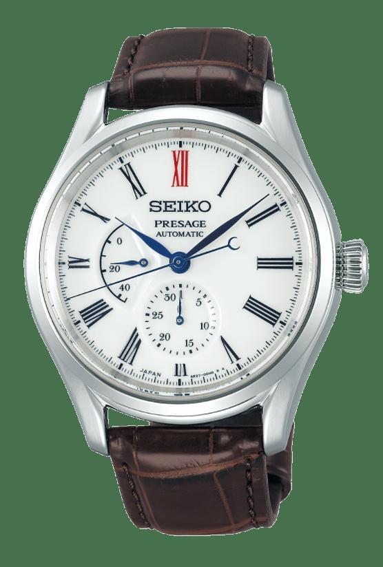 Elegant white-dialled Seiko piece