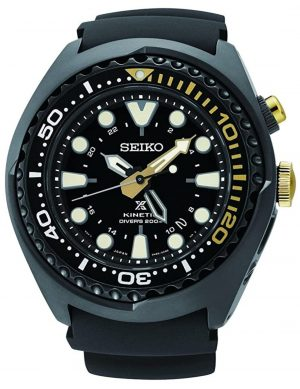 professional dive watch with Kinetic powering