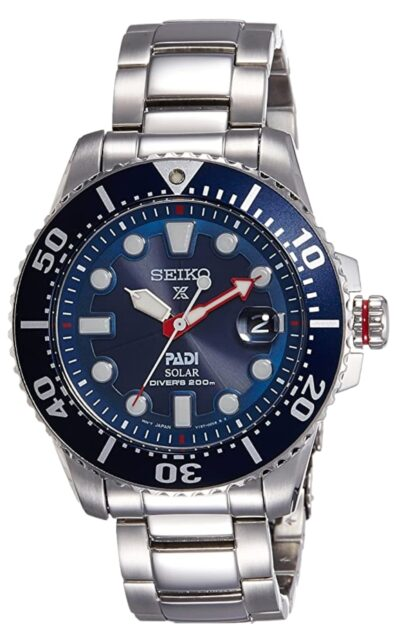 Seiko solar among the top watch brands for men