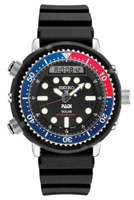 Oversized Seiko watch for professional diving