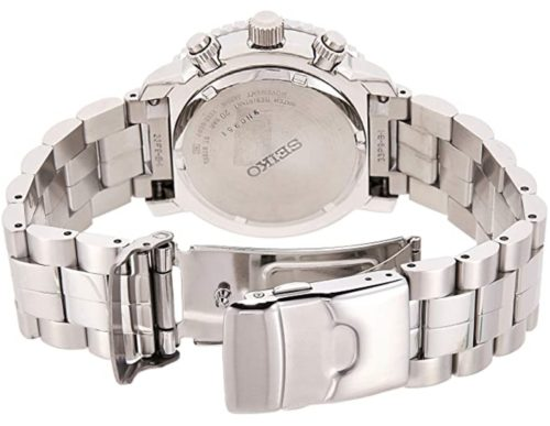 Metal watch with stainless steel band and case