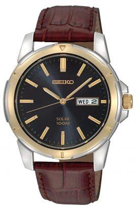 Seiko dress watch with solar power