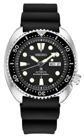 ISO certified Seiko dive watch with self-winding caliber
