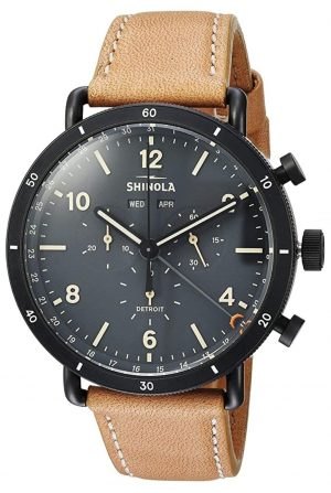 American made Shinola watch with chronograph function