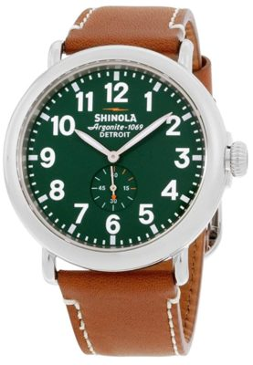 Shinola watch review on the Runwell collection