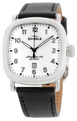 Round square watch from Shinola