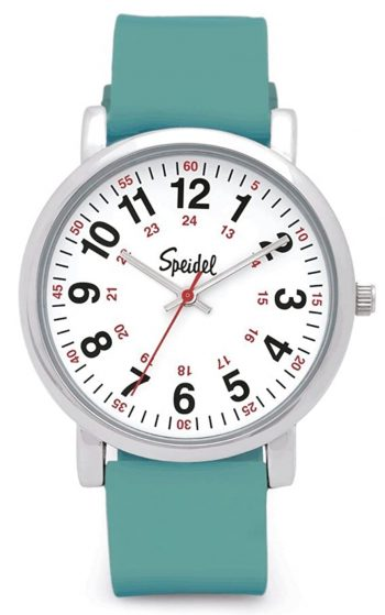 Simple and practical nurse watch with analog face