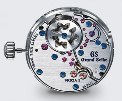 Sweeping second hand watch movement