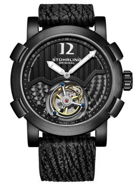 affordable tourbillon wristwatches from Stuhrling