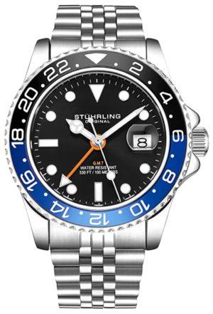 GMT bezel watch