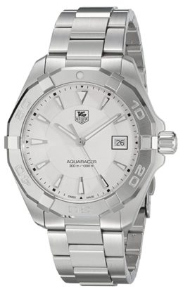 Swiss-made premium class dive watch with light-tone face