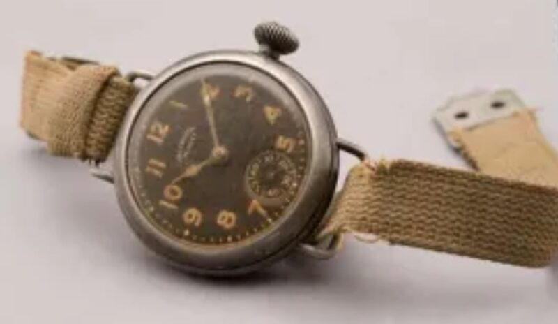 First Timex wristwatch