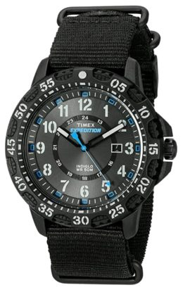 Timex watch among the cheapest luminous timepieces