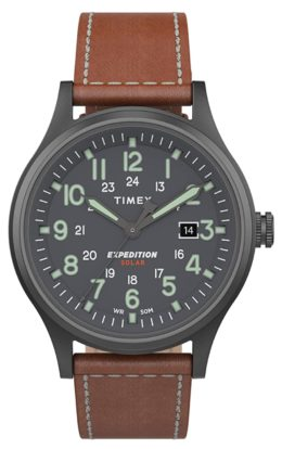 Affordable and reliable Timex solar-powered watch