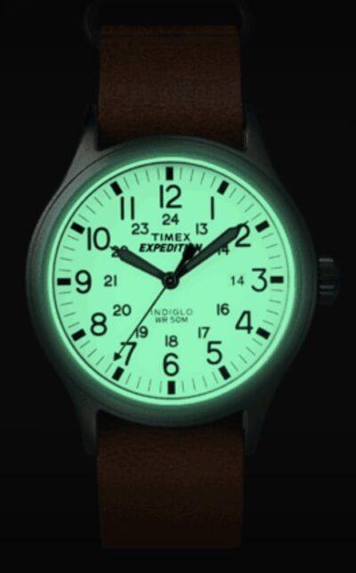 green Indiglo backlight