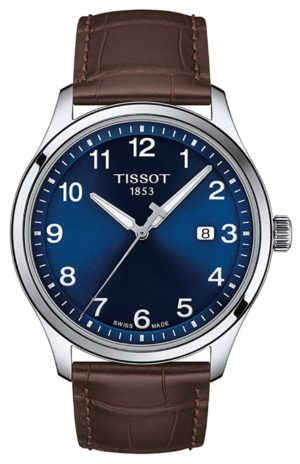 Blue sapphire crystal watch from Tissot