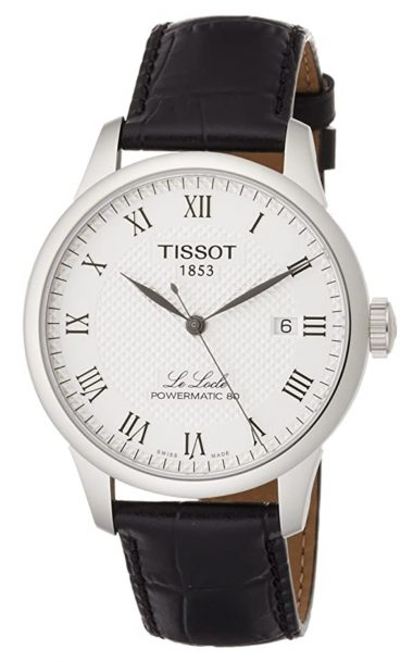 Elegant Tissot brand watch with glittering reputation