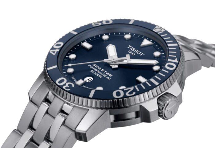 Tissot's ceramic bezel watch