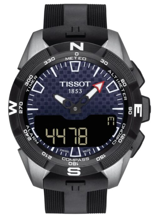 Tissot T-Touch solar tactile watch with titanium case