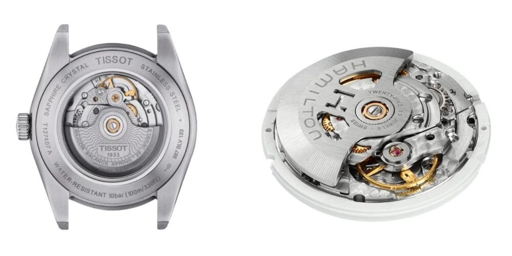 Tissot vs Hamilton movements